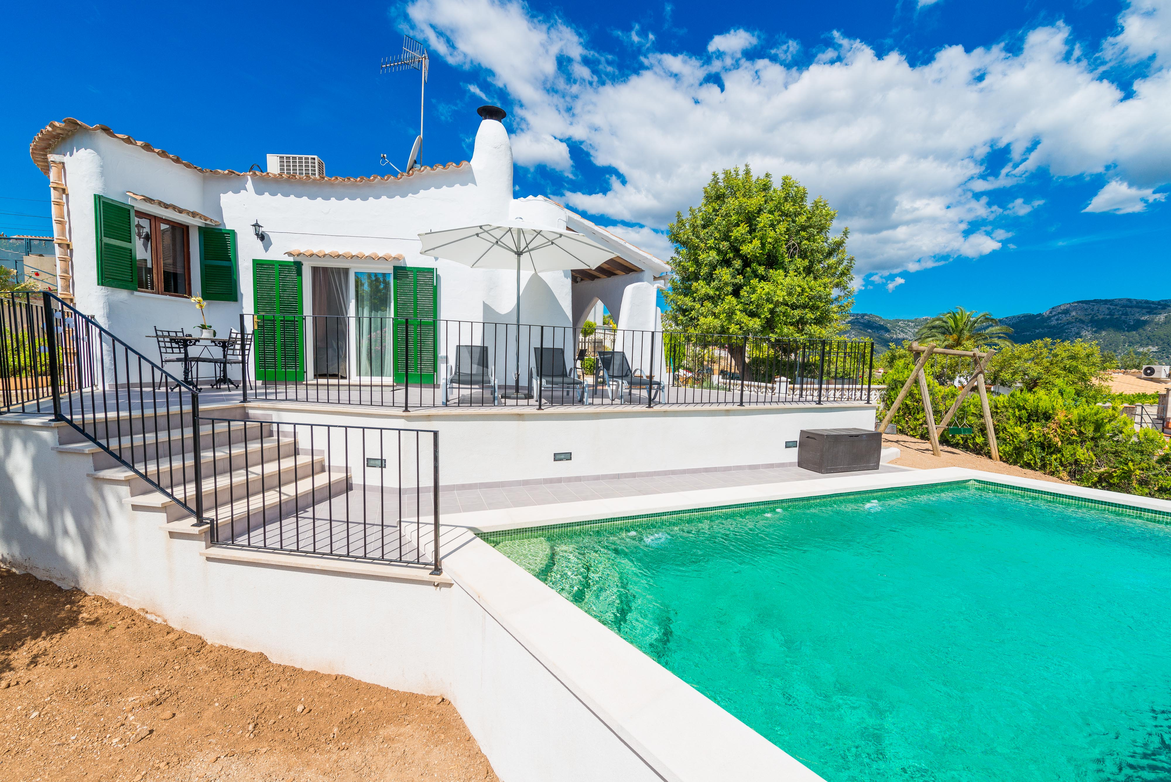 SON BORRÀS - Nord Mallorca - Spanien - Ferienhaus mieten online ...